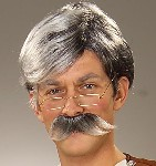 Geppetto Wig & Moustache